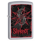 Zippo Slipknot Logo & Goat Head Windproof Lighter