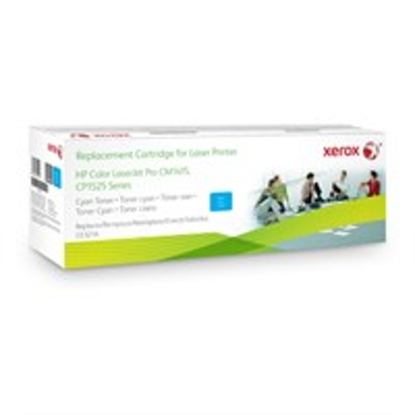 Xerox 106R02223 compatible Toner cyan, 1.3K pages @ 5% coverage (replaces HP 128A)