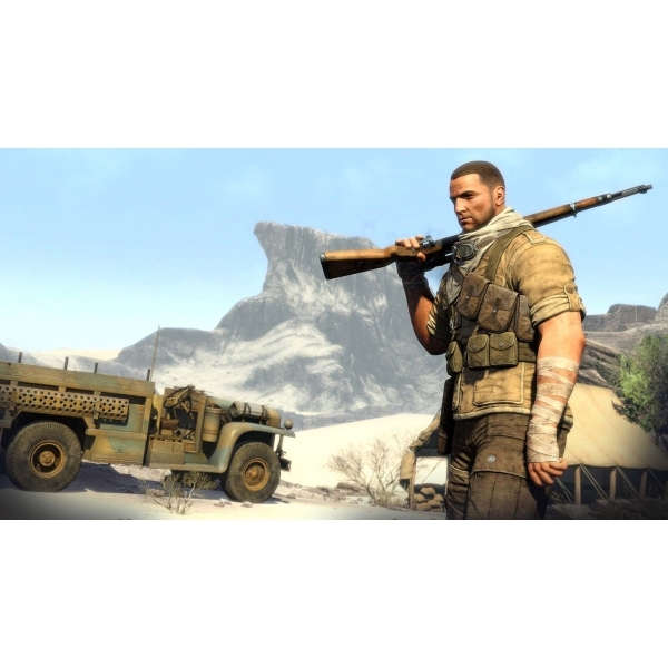 Sniper Elite III 3 with Hunt the Grey Wolf DLC Xbox 360 Game - Image 3