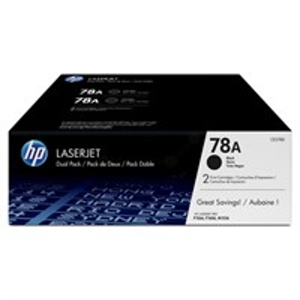 HP CE278AD (78A) Toner black, 2.1K pages, Pack qty 2