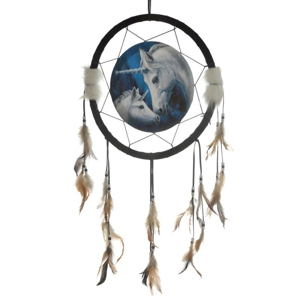 Unicorn and Foal 33cm Dreamcatcher
