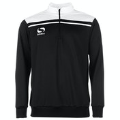 Sondico Precision Quarter Zip Sweatshirt Youth 13 (XLB) Black/White