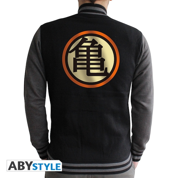 Dragon Ball - Kame Symbol Men's Large Hoodie - Black