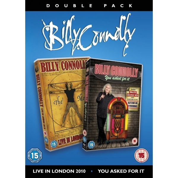 Billy Connolly Live Box Set DVD
