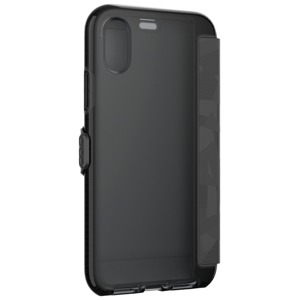 Tech21 Evo Wallet for iPhone X, Black (T21-5860)