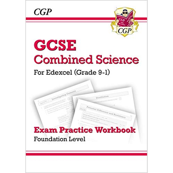 New Grade 9-1 GCSE Combined Science: Edexcel Exam Practice Workbook - Foundation by CGP Books (Paperback, 2016)