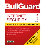 Bullguard Internet Security 2019 1Year/3PC Windows Only Single Soft Box English