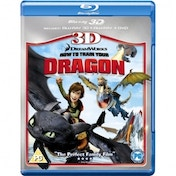 How to Train Your Dragon 3D 3D Blu-Ray  2D Blu-Ray and DVD