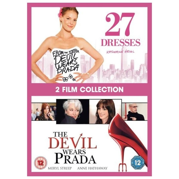Image of 2 Film Collection - 27 Dresses + The Devil Wears Prada DVD