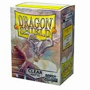Dragon Shield Matte NonGlare - Clear 100 Sleeves In Box (10 Packs)