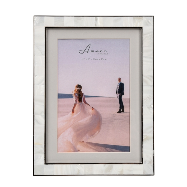 """Mother of Pearl Photo Frame 4"""" x 6"""" or 5"""" x 7"""" Without Mount"""