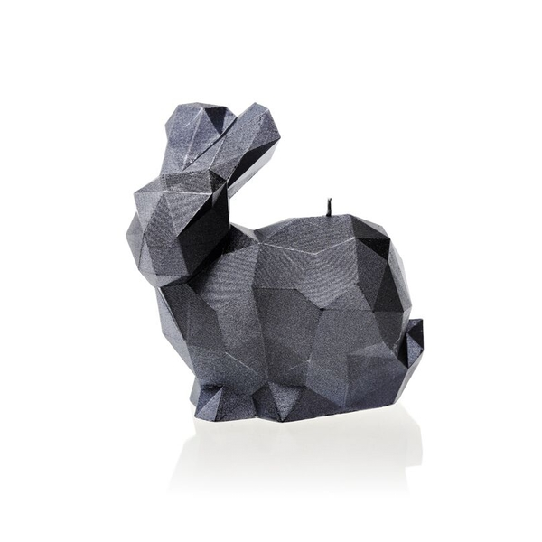 Steel Large Rabbit Candle