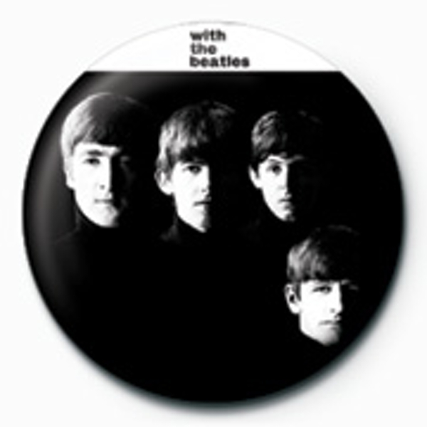 The Beatles - With The Beatles Badge