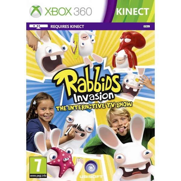 Rabbids Invasion The Interactive TV Show Xbox 360 Game