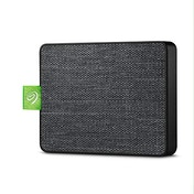 """Seagate Ultra Touch SSD, 500 GB, Portable External SSD, 2.5"""", USB 3.0, PC & Mac, White, 4 mo Adobe Creative Cloud Photography Plan and Three-yr Rescue Services (STJW1000400)"""