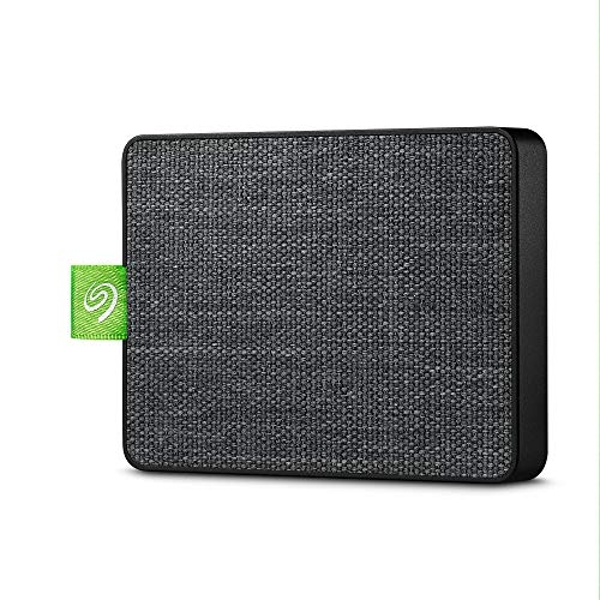 """Seagate Ultra Touch SSD, 1 TB, Portable External SSD, 2.5"""", USB 3.0, PC & Mac, White, 4 mo Adobe Creative Cloud Photography Plan and Three-yr Rescue Services (STJW1000400)"""