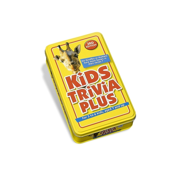 Kids Trivia Plus Third Edition Tin