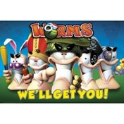 Worms Characters Maxi Poster