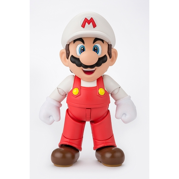 Fire Mario (Super Mario Bros) Bandai Tamashii Nations Figuarts Figure