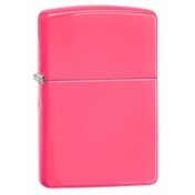 Zippo Regular Neon Pink Windproof Lighter