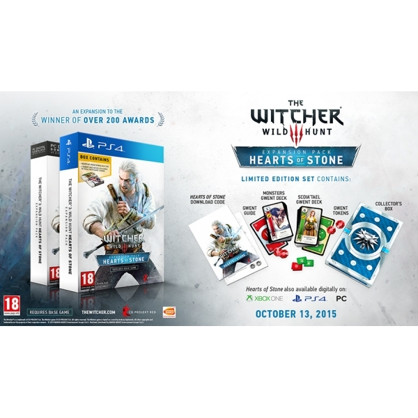 The Witcher 3 Wild Hunt Hearts of Stone Limited Edition with Gwent Cards PC Game - Image 4