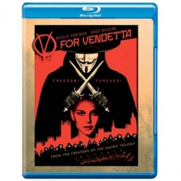 V For Vendetta 2006 Blu-Ray