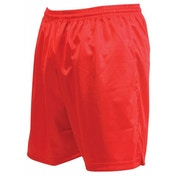 Precision Micro-stripe Football Shorts 18-20 inch Red