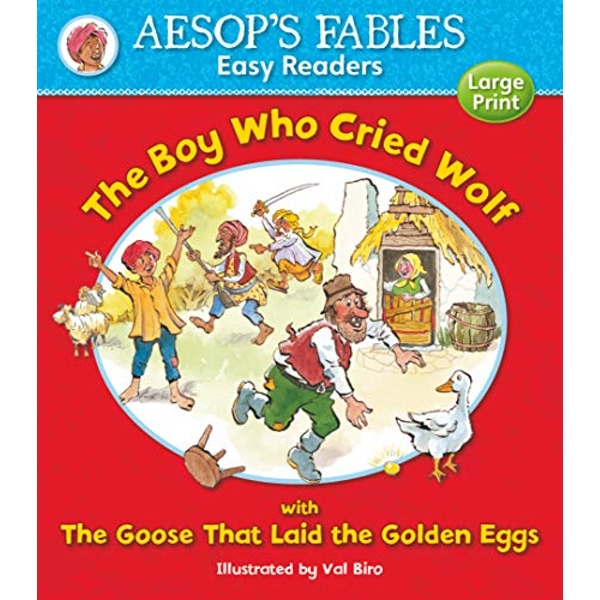 The Boy Who Cried Wolf: with The Goose That Laid the Golden Eggs by Award Publications Ltd (Paperback, 2013)