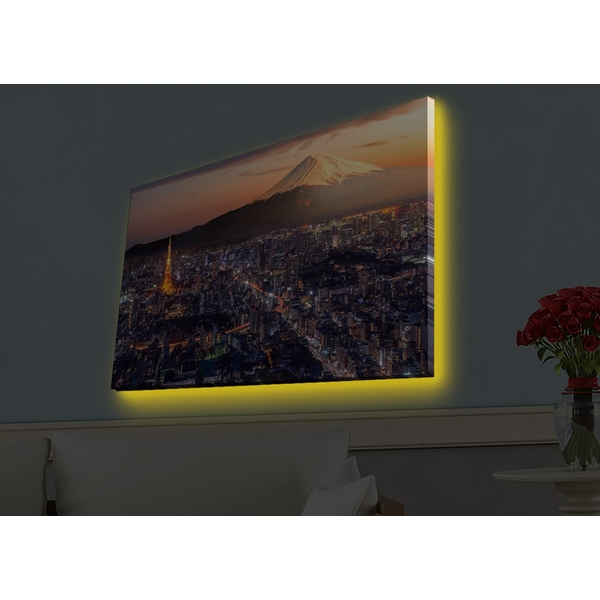 4570HDACT-086 Multicolor Decorative Led Lighted Canvas Painting