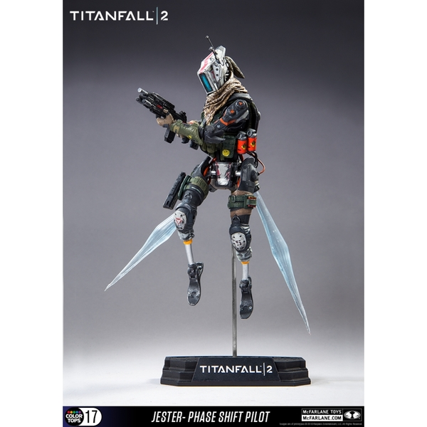 Green Titanfall 2 Jester 7 inch Collectible Action Figure - Image 2