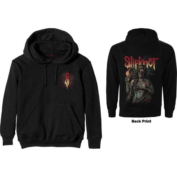 Slipknot - Burn Me Away Men's Large Pullover Hoodie - Black