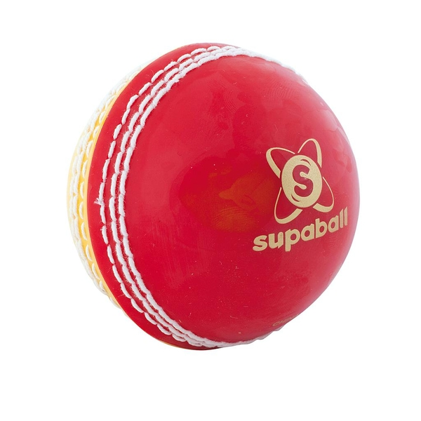 Readers Supaball Training Cricket Ball Red/Yellow Mens