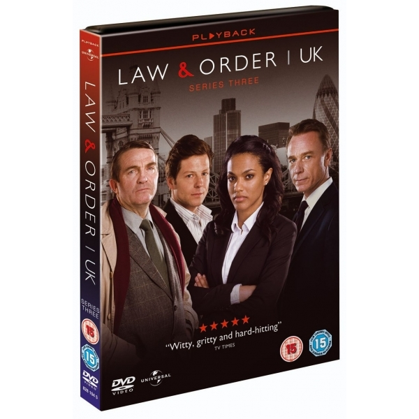 Law & Order: UK - Series 3 DVD