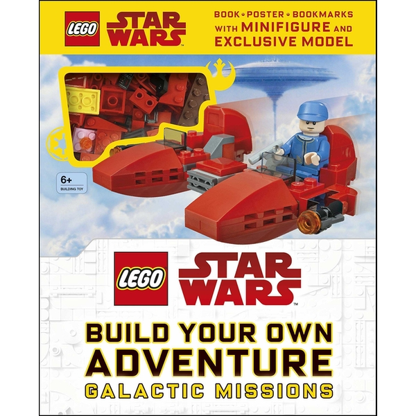 LEGO Star Wars Build Your Own Adventure Book & Brick Set
