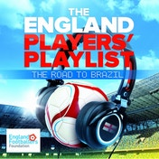 The England Players' Playlist: The Road To Brazil CD