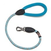 Long Paws Comfort Collection Rope Lead 75cm / 30in Light Blue