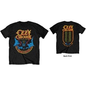 Ozzy Osbourne - Bat Circle Men's Large T-Shirt - Black
