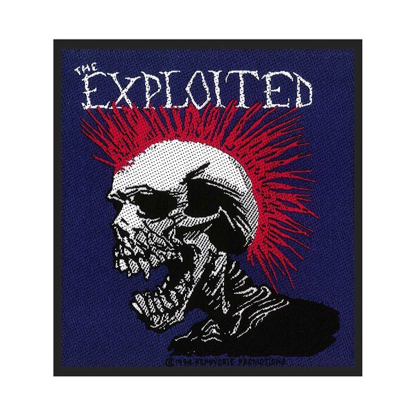The Exploited - Mohican Standard Patch