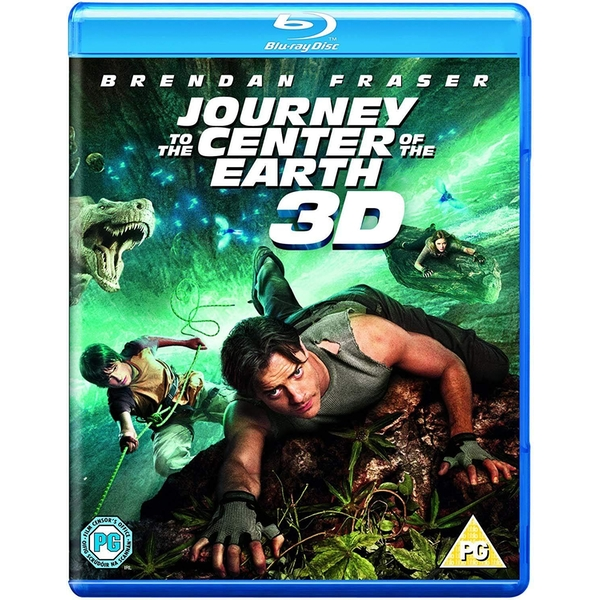 Journey To The Center of The Earth 3D 2D Blu-Ray
