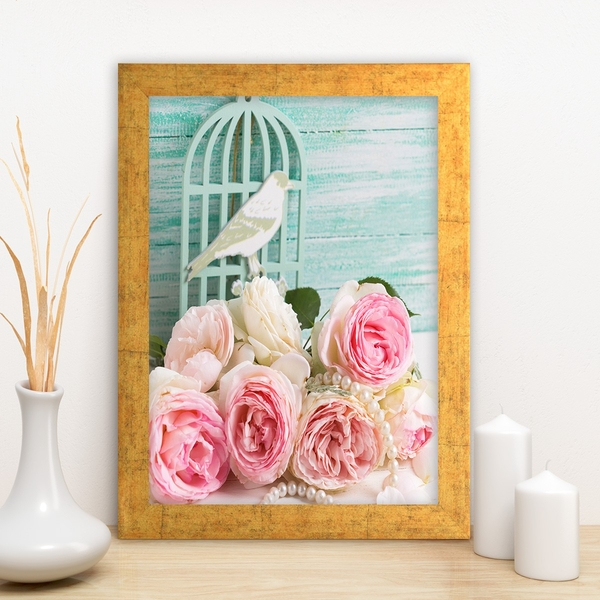 AC3035083346 Multicolor Decorative Framed MDF Painting