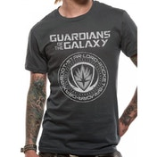 Guardians Of The Galaxy 2 Crest Unisex Small T-Shirt - Grey