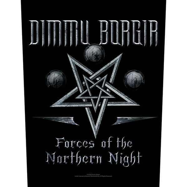 Dimmu Borgir - Forces of the Northern Night Back Patch