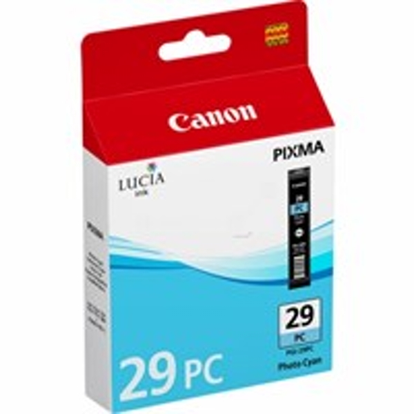 Canon 4876B001 (PGI-29 PC) Ink cartridge bright cyan, 400 pages, 36ml