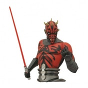 Star Wars The Clone Wars Darth Maul Bust Bank