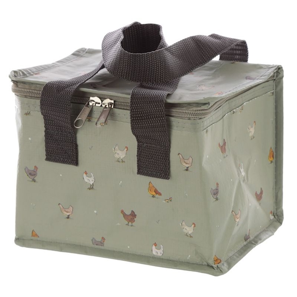 Woven Cool Bag Lunch Box - Willow Farm Chicken