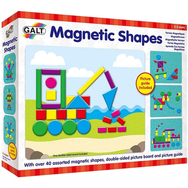 Magnetic Shapes Play & Learn Toy