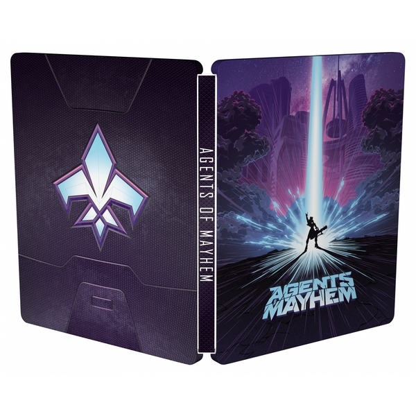 Agents Of Mayhem Day One Steelbook Edition PS4 Game - Image 9