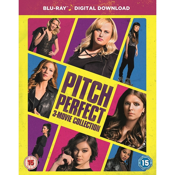 Pitch Perfect: 3 Movie Boxset - Blu-Ray + Digital download (Region Free)