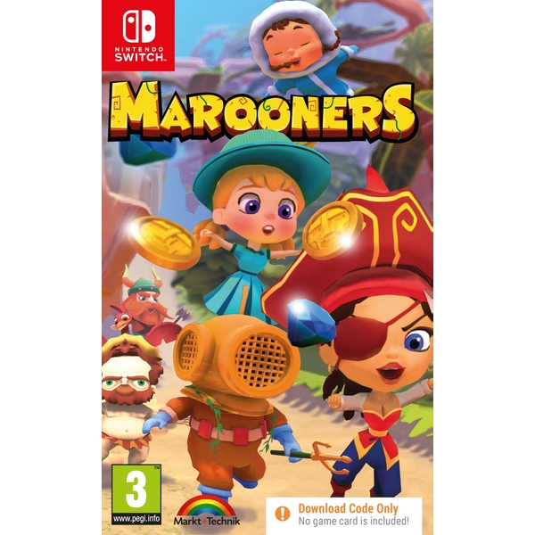 Marooners Nintendo Switch Game [Code in a Box]