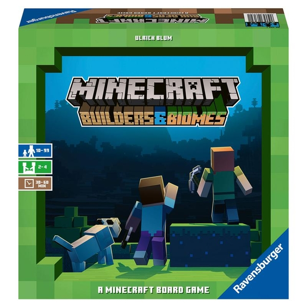 Minecraft Builders & Biomes Board Game